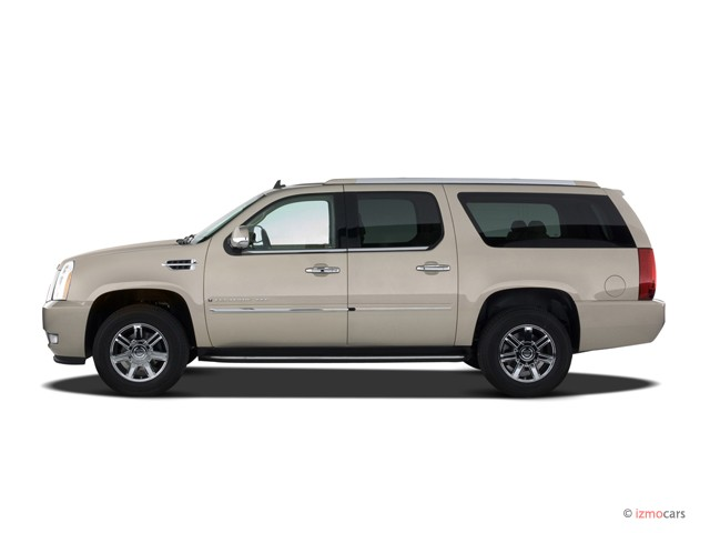 Image: 2007 Cadillac Escalade ESV AWD 4-door Side Exterior ...