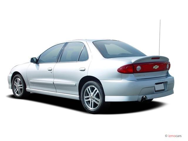2004 Chevrolet Cavalier 4 Door Sedan LS Sport Angular Rear Exterior View