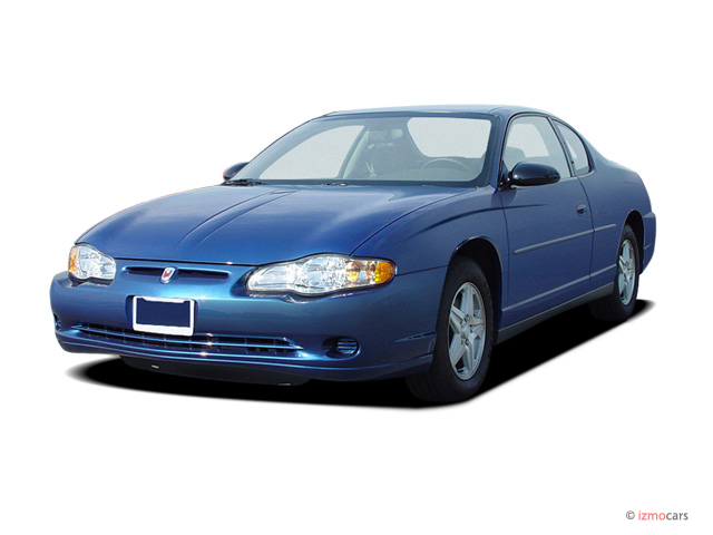 2004 Chevrolet Monte Carlo 2-door Coupe LS Angular Front Exterior View