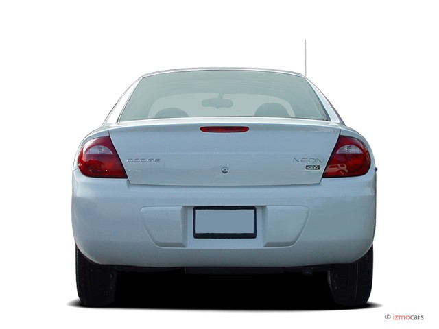 Image 2004 Dodge Neon 4 Door Sedan Sxt Rear Exterior View
