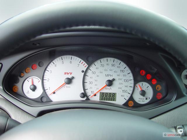 Image 2004 Ford Focus 5dr Sedan Hb Svt Instrument Cluster