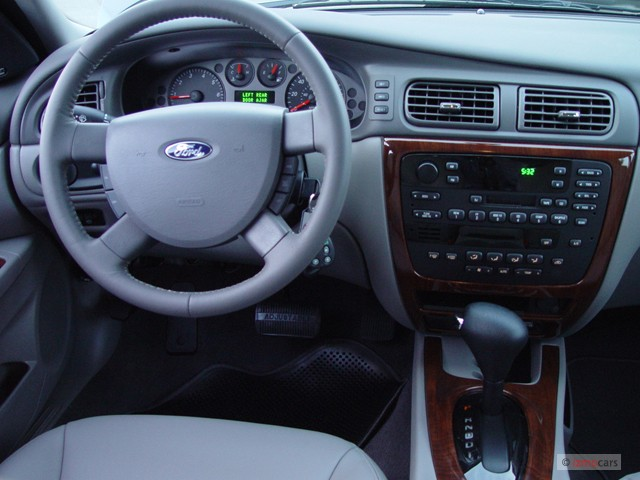 Ford Fusion Hybrid For Sale >> Image: 2004 Ford Taurus 4-door Wagon SEL Dashboard, size ...