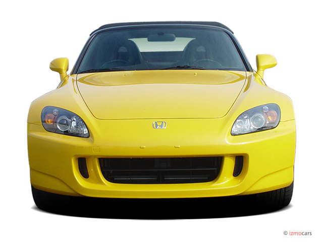 Awesome 2004 Honda S2000 2 Door Convertible Front Exterior View