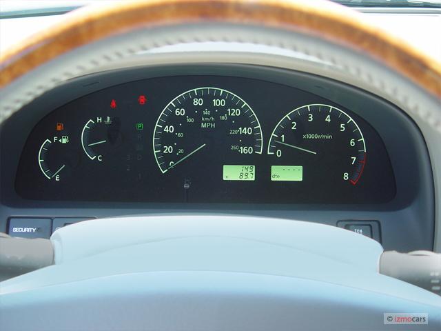 Used Infiniti Qx80 >> Image: 2004 Infiniti I35 4-door Sedan Luxury Instrument Cluster, size: 640 x 480, type: gif ...