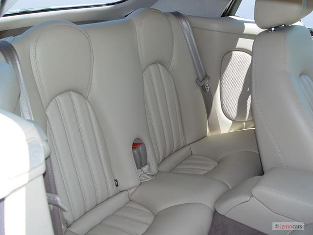 Image 2004 Jaguar Xk8 2 Door Convertible Xk8 Rear Seats