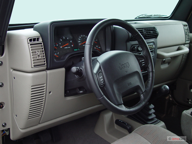 Image: 2004 Jeep Wrangler 2-door Rubicon Dashboard, size ...