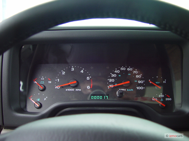 Image: 2004 Jeep Wrangler 2-door Rubicon Instrument ...