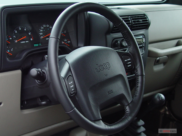 Image: 2004 Jeep Wrangler 2-door Rubicon Steering Wheel ...