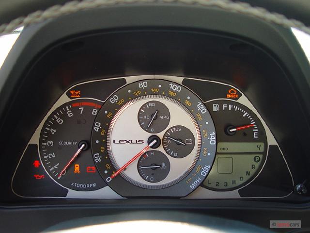 Image: 2004 Lexus IS 300 5dr Wagon Auto Trans Instrument ...