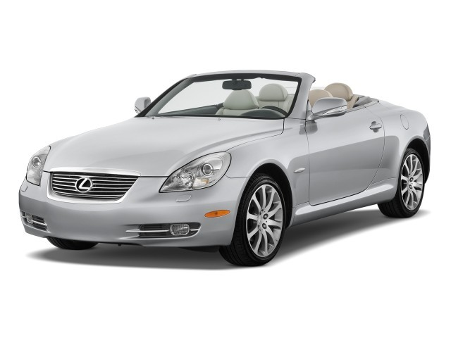 2009 Lexus SC 430 2-door Convertible Angular Front Exterior View