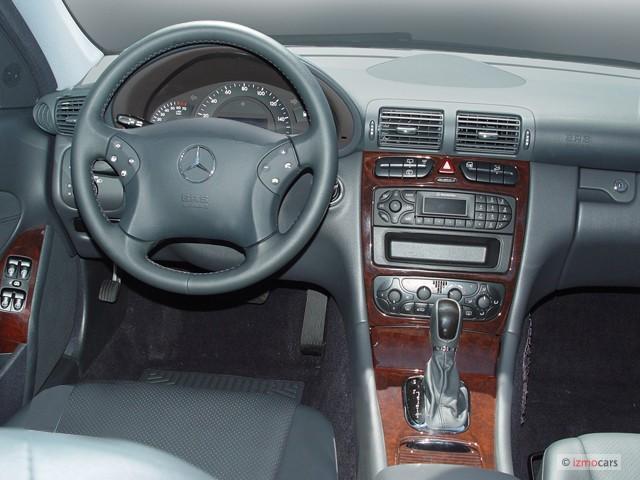 Image: 2004 Mercedes-Benz C Class 4-door Wagon 2.6L ...
