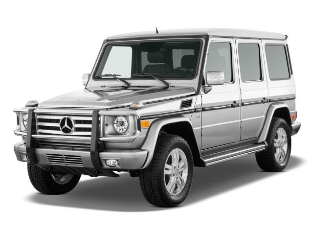 2009 Mercedes-Benz G Class 4WD 4-door 5.5L Angular Front Exterior View