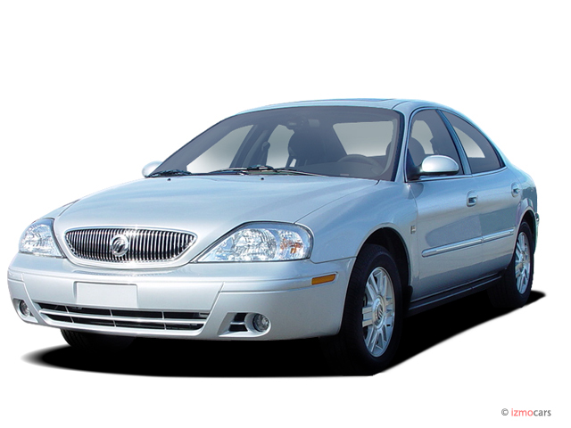 Image: 2004 Mercury Sable 4-door Sedan LS Premium Angular ...
