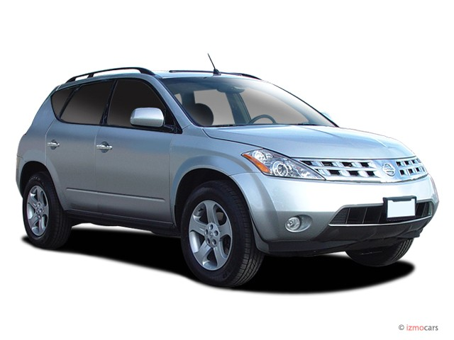 2005 Nissan Murano 4-door SL AWD V6 Angular Front Exterior View