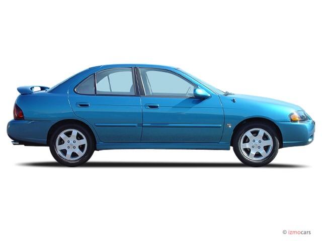 Image: 2004 Nissan Sentra 4-door Sedan SE-R Spec V Manual ...