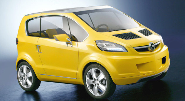 Opel S All Electric Car Is Expected To Based On 2004 Tri Concept And Use