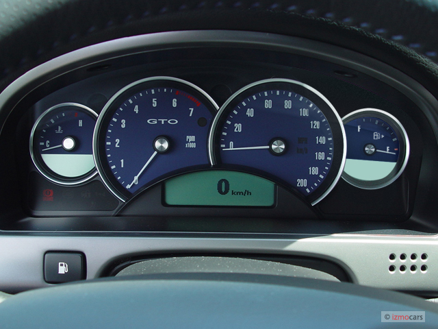 image 2004 pontiac gto 2 door coupe instrument cluster. Black Bedroom Furniture Sets. Home Design Ideas