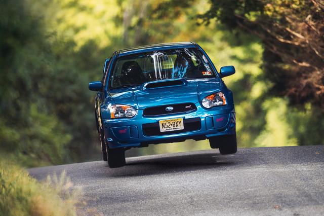 2004 Subaru WRX STI, photo by DW Burnett