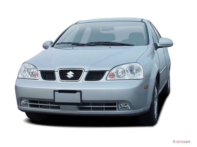 2004 Suzuki Forenza 4 Door Sedan S Auto Angular Front Exterior View