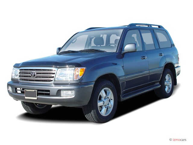 2004 Toyota Land Cruiser 4-door 4WD (Natl) Angular Front Exterior View