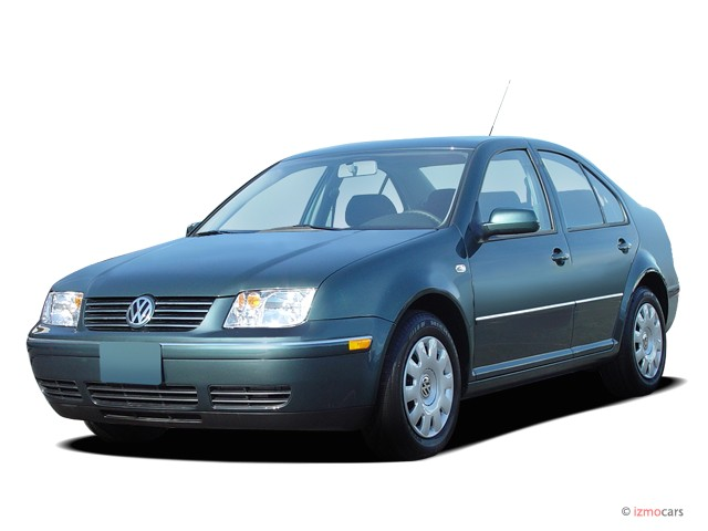 2004 Volkswagen Jetta Sedan 4-door Sedan GL Manual Angular Front Exterior View