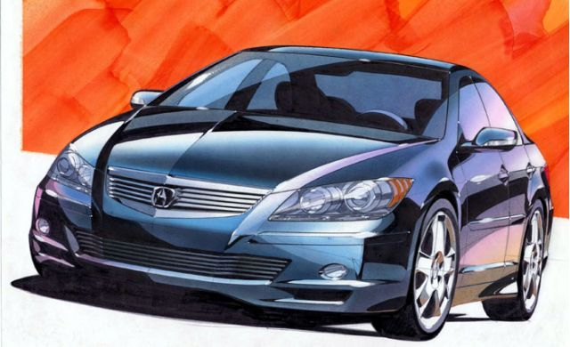 2004 Acura RL Prototype concept