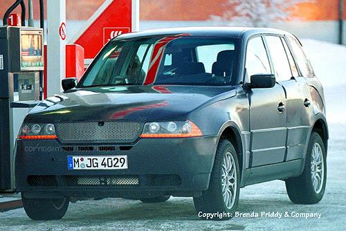 2004 BMW X3 spy shot