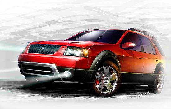 2004 Ford CrossTrainer