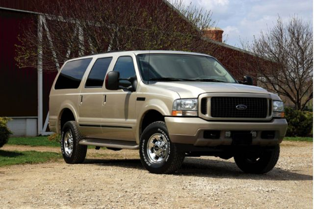 ford excursion for sale the car connection. Black Bedroom Furniture Sets. Home Design Ideas