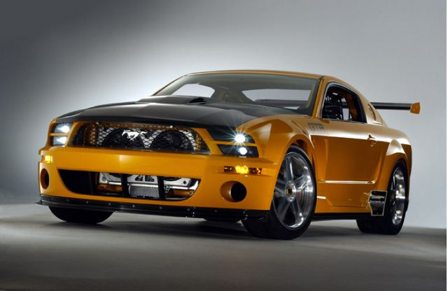 Mustang gt r concept