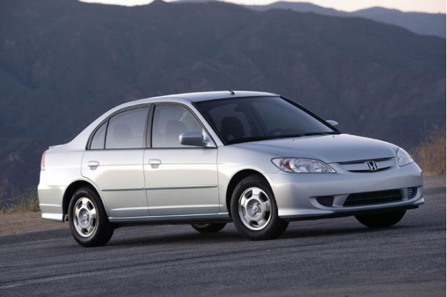 2004 honda civic hybrid review ratings specs prices. Black Bedroom Furniture Sets. Home Design Ideas