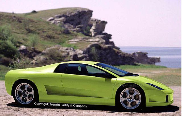 2004 Lamborghini L140 spy shot