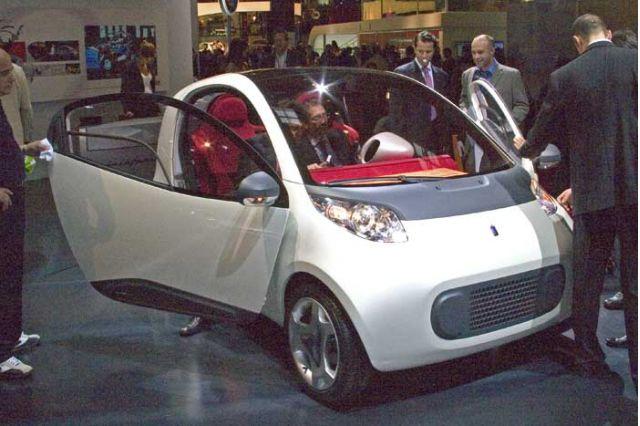 2004 Pininfarina Nido concept