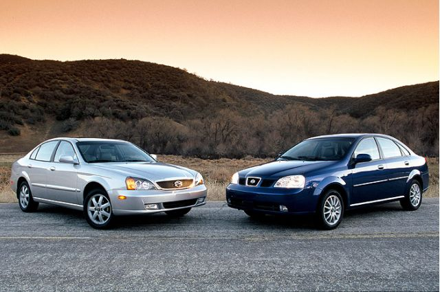 2004 Subaru Verona and Forenza
