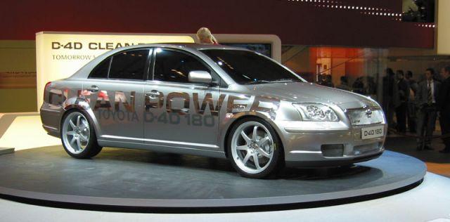 2004 Toyota Avensis Clean Diesel concept, Paris Auto Show