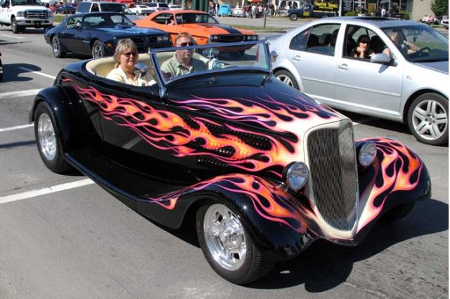 2004 Woodward Dream Cruise - Flame Hot Rod