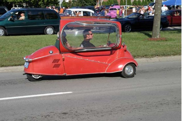 2004 Woodward Dream Cruise - Messerschmitt