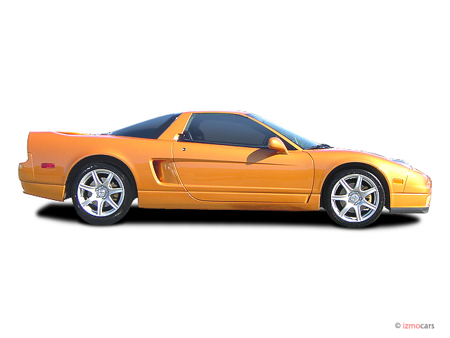 Acura Nsx Door Coupe Mt Side Exterior View M
