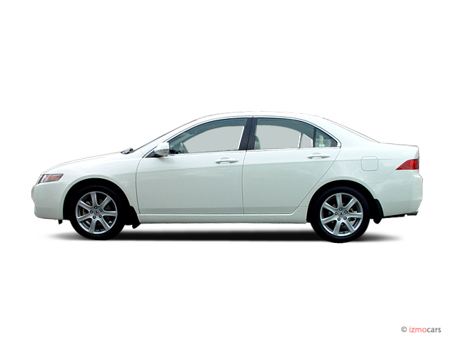 Image: 2005 Acura TSX 4-door Sedan AT Side Exterior View, size: 640