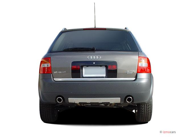 image 2005 audi allroad 5dr wagon 2 7t quattro auto rear exterior view size 640 x 480 type. Black Bedroom Furniture Sets. Home Design Ideas
