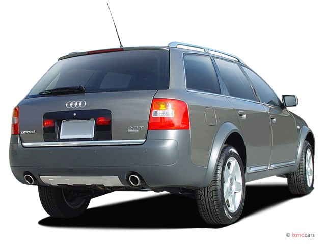 image 2005 audi allroad 5dr wagon 2 7t quattro auto angular rear exterior view size 640 x 480. Black Bedroom Furniture Sets. Home Design Ideas
