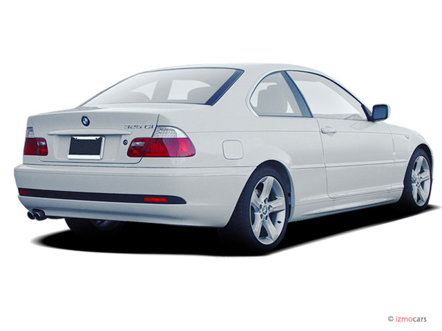 Image 2005 Bmw 3 Series 325ci 2 Door Coupe Angular Rear