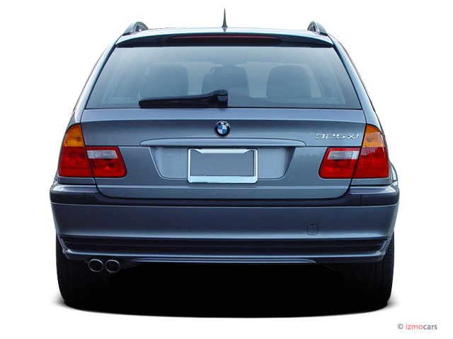 Image 2005 Bmw 3 Series 325xi 4 Door Sport Wagon Awd Rear Exterior View Size 640 X 480 Type