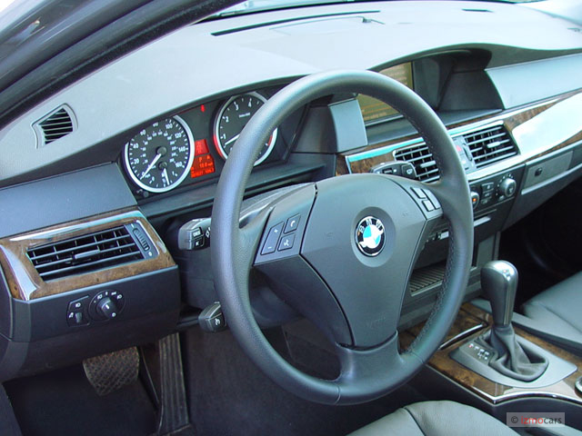Image 2005 Bmw 5 Series 530i 4 Door Sedan Dashboard Size