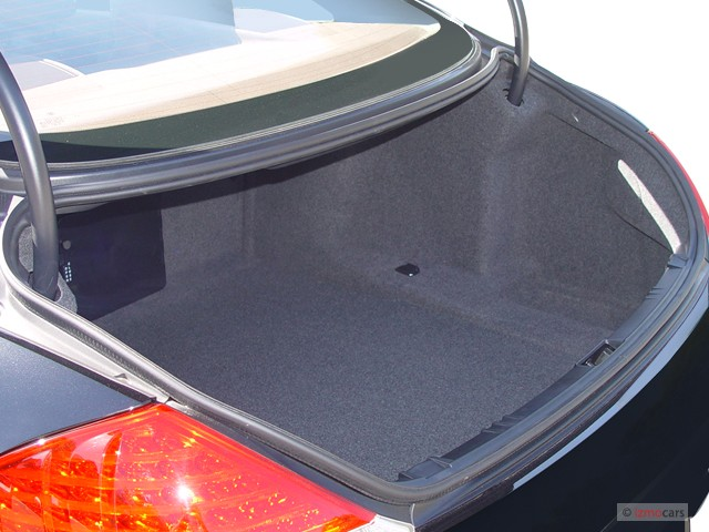 Image 2005 Bmw 6 Series 645ci 2 Door Coupe Trunk Size