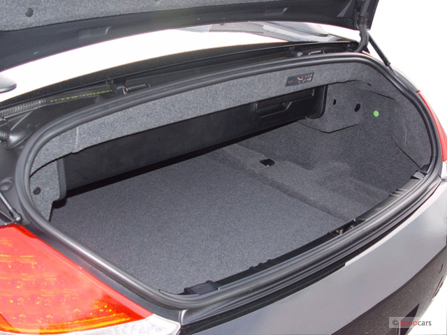 2005 BMW 6 Series 645Ci 2 Door Convertible Trunk