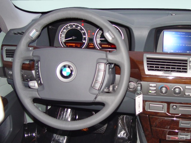 BMW Dealerships In Georgia >> Image: 2005 BMW 7-Series 745Li 4-door Sedan Steering Wheel ...