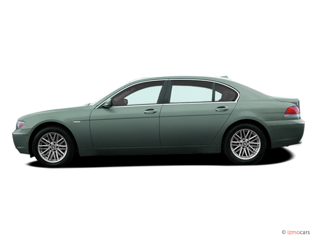 2005 BMW 7-Series 745Li 4-door Sedan Side Exterior View