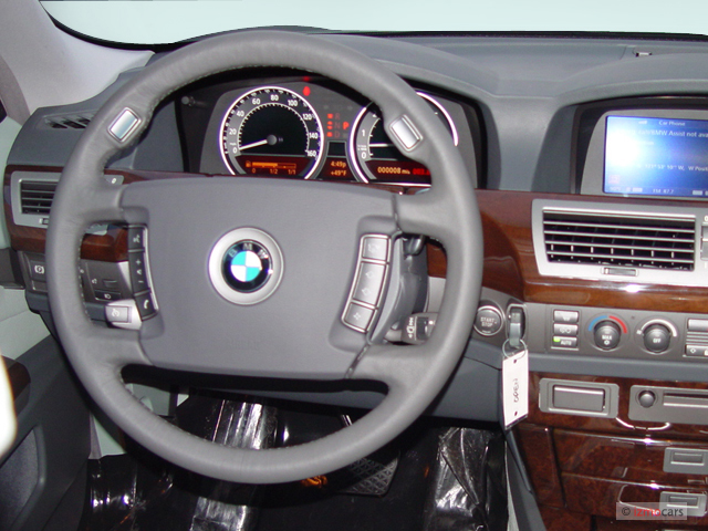 Image BMW Series Li Door Sedan Steering Wheel Size - 2009 bmw 745