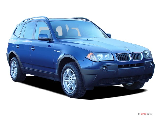 2005 BMW X3-Series X3 4-door AWD 3.0i Angular Front Exterior View